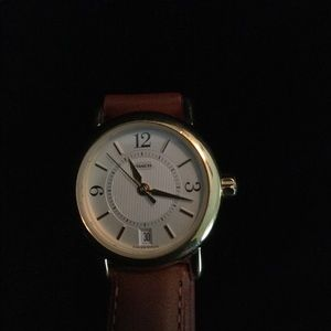 Ladies Classic Coach Watch - Leather Band